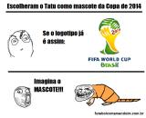 Tatu-bola na Copa